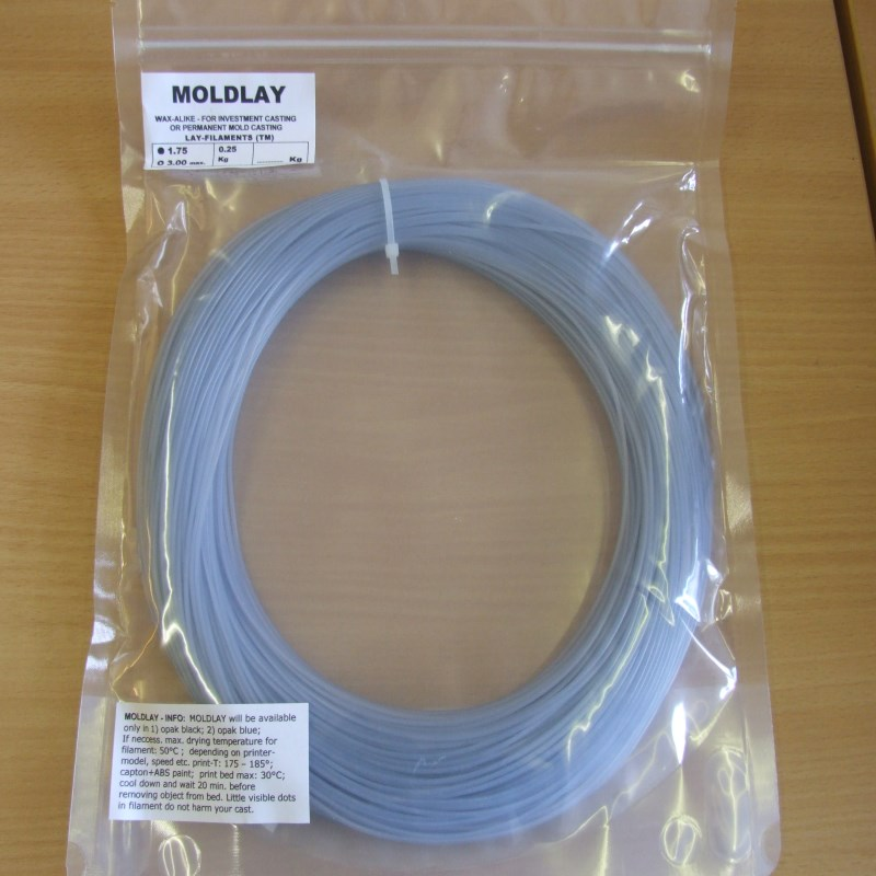 Moldlay 250gms 3d Printer Filament By Kai Parthy Cc Products